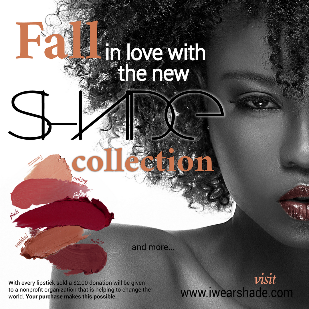 SHADE FALL LINE BRINGS AWARENESS TO WOMEN'S HEART HEALTH