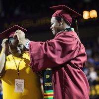 Stories We Love – Mother and Son Receive College Degrees on the Same Day