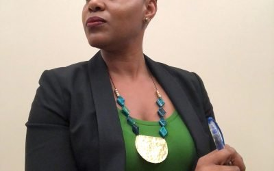 Wearing Ethnic Accessories To Work  By Nyota Byfield
